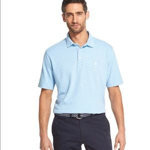 Izod Sportswear Premium Interlock Polo, Medium